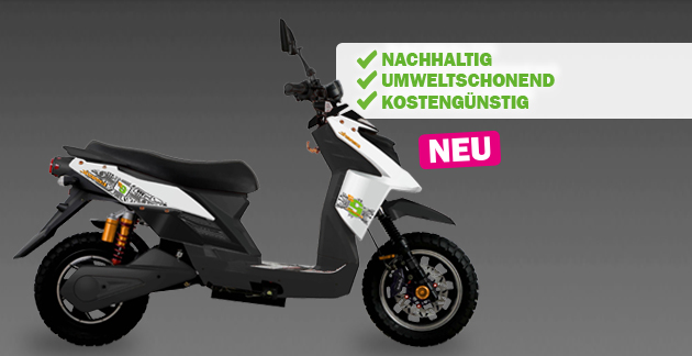 E2 Electric E-Moped