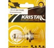 KRISTALL 12V Autolampe H7 (55W)