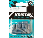 KRISTALL Rundsteckhülse blau (5mm)