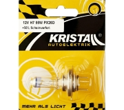 KRISTALL 12V Autolampe H7 + 50%