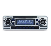 CALIBER Autoradio Retro Chrome RCD 120