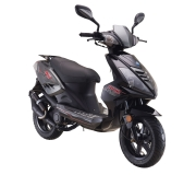 RIDE Race Moped schwarz (125ccm)