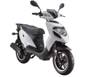 GENERIC Paradise Moped weiß (50ccm)
