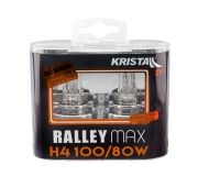 KRISTALL Lampe 12V H4 100W Ralley Max