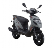 Moped 50 ccm Generic Paradise Sport weiß