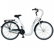 DINOTTI City-Bike TS 8019 Tiefeinsteiger, Damen 26