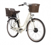 FISCHER City E-Bike Retro ER 1804, 28´´ Damen, elfenbein