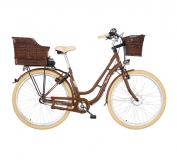 FISCHER City E-Bike Retro ER 1804 Damen 28´´, nussbraun