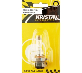 KRISTALL 12V Autolampe HB4 (55W)