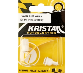 KRISTALL 12V LED Power weiss T10 5W