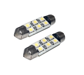 EUFAB SMD-LED Soffitte (10 x 36 mm, 2 Stk)