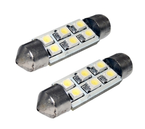 EUFAB SMD-LED Soffitte (10 x 41 mm, 2 Stk)