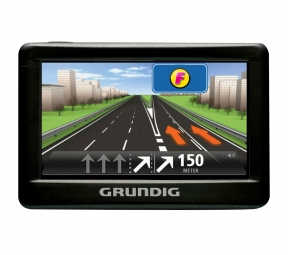 forstinger onlineshop grundig navigationsger t gps m5 5. Black Bedroom Furniture Sets. Home Design Ideas