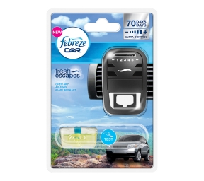 FEBREZE CAR Starterkit fresh escapes Klare Bergluft