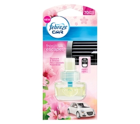 FEBREZE CAR Refill fresh escapes Rosenblüte