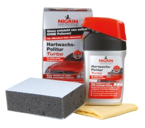 NIGRIN Performance Hartwachs-Politur Turbo (300 ml)