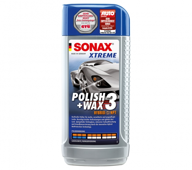 forstinger onlineshop sonax xtreme polish wax 3 500 ml sterreichs nr 1 f r mobile. Black Bedroom Furniture Sets. Home Design Ideas